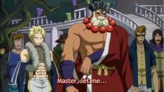 Fairy Tail - Natsu vs Sabertooth
