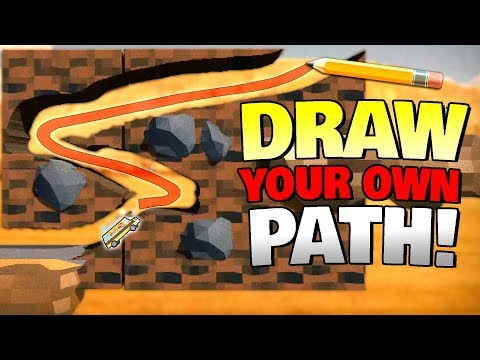 DRAW YOUR OWN ROAD TRIP! - Road Flip Gameplay First Look