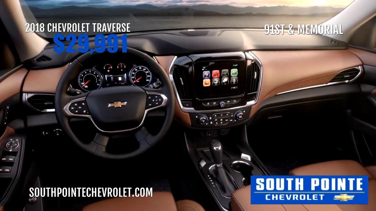 South Pointe Chevrolet 2018 Chevrolet Traverse Youtube