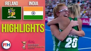 Ireland v India | 2018 Women's World Cup | HIGHLIGHTS