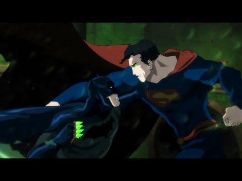 Batman Vs Superman (Fight)   Batman: Hush