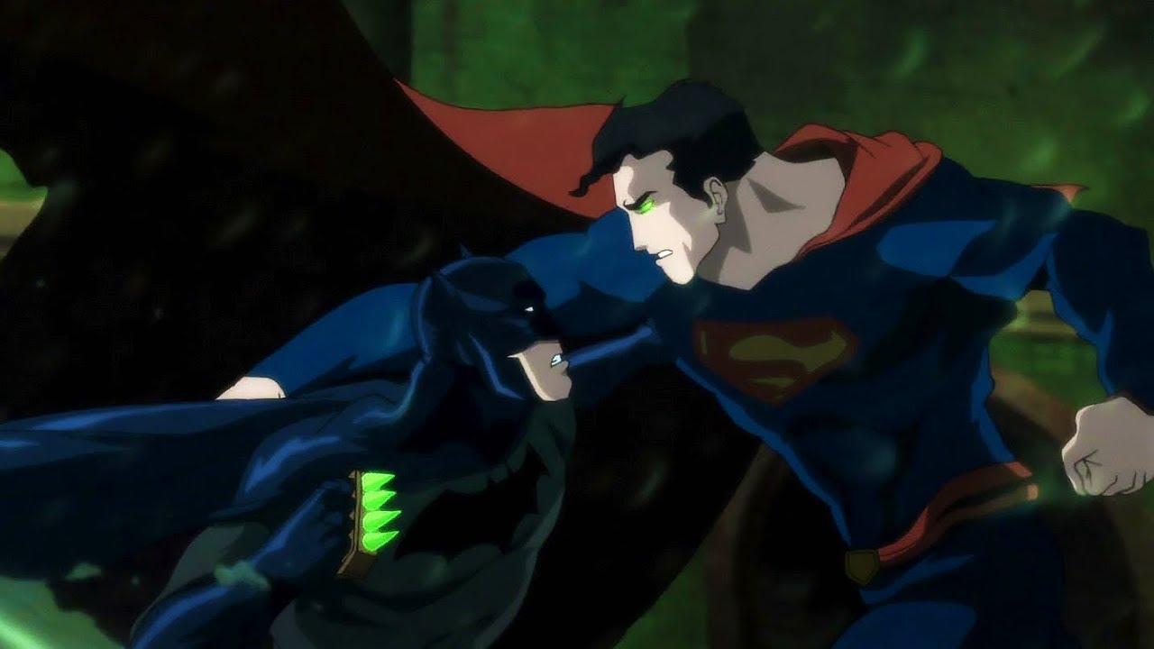 Download Batman vs Superman (Fight) | Batman: Hush