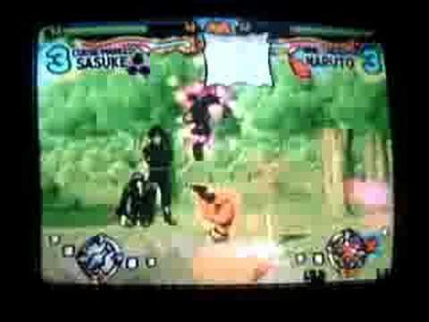cursed mark sasuke vs.nine tailed naruto - cursed mark sasuke vs.nine tailed naruto
