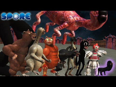 Scary Monster Size Comparison   Horror Arena [S2]   SPORE