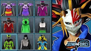 JUMP FORCE - ALL Costumes & Accessories For Male / Female CaC Gameplay (All Character Customization)