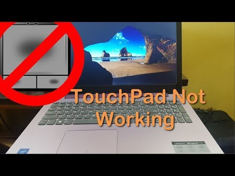 Laptop Touchpad Not Working Fix (Lenovo Laptop)