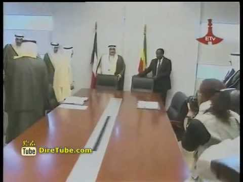 Ethiopia and Kuwait sign a 20 ML USD loan agreement for road construction