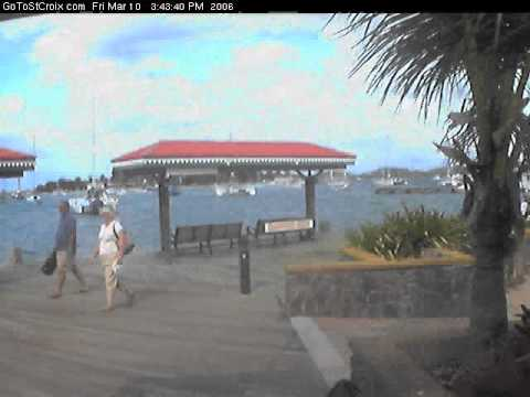One Day In The Life of the St Croix Harbor Cam