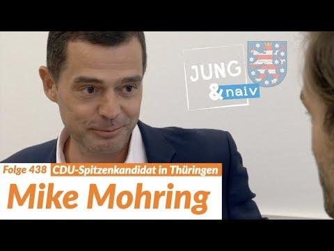CDU-Spitzenkandidat Mike Mohring   Wahl in Thüringen - Jung & Naiv: Folge 438