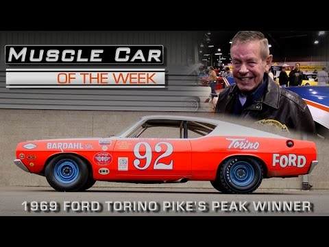 Bobby Unser Interview and 1969 Ford Torino Pikes Peak Winner:  Muscle Car Of The Week Episode 200