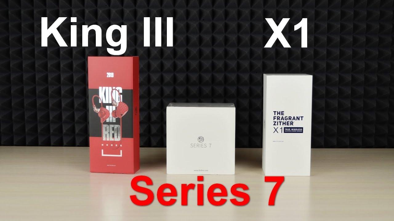 TFZ <b>King</b> 3, Series 7 и X1. Слишком много эмоций! - YouTube