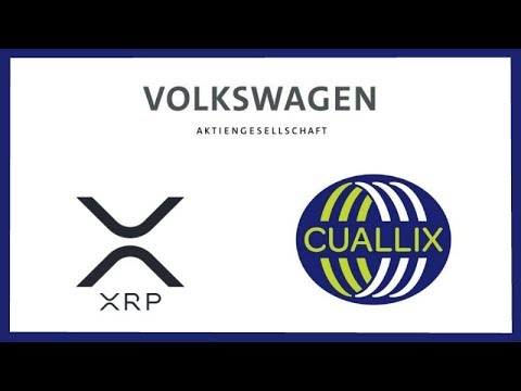 Volkswagen Group Looking to Integrate Crypto into Car Services - Ripple Cuallix xRapid Updates