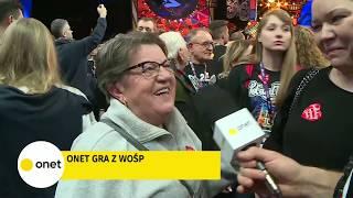 Uczestniczka finału WOŚP: nikt inny na świecie nie robi takiej roboty | OnetNews