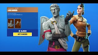 *OG* LOVE RANGER Skin & WINGTIP Skin Is Back in Fortnite Item Shop [5 September 2019]
