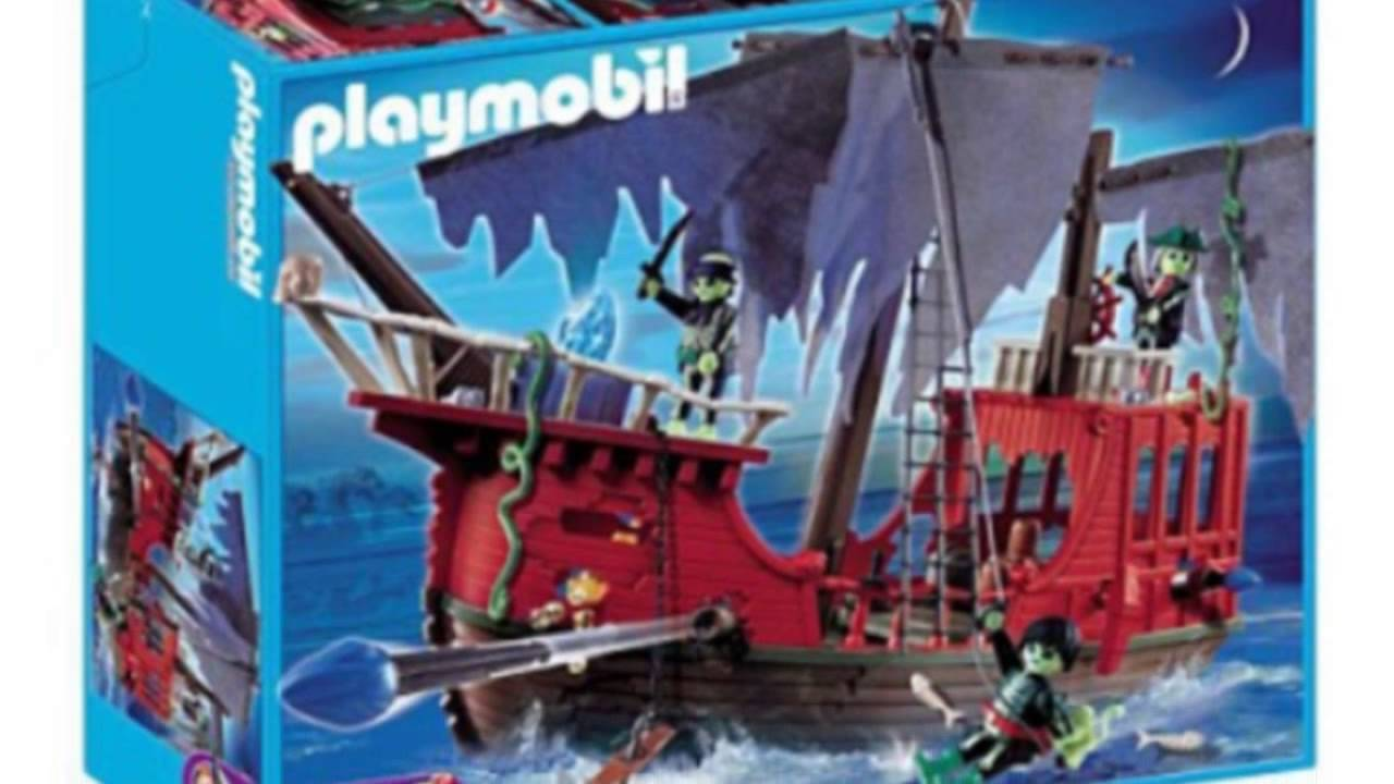 Playmobil 4806 Ghost Pirate Ship Set - Youtube
