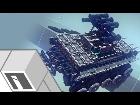 "The ""Steel Trap"" Tank | Besiege"