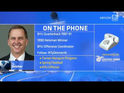 BYUSN: Ty Detmer Full Interview after 3.14.17
