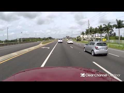 Billboard Video Ride: Digital Bulletin #782: Gandy Blvd and Oak St