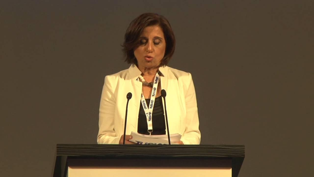 TÜSİAD Yüksek İstişare Konseyi Toplantısı, TÜSİAD YK Başkanı Cansen Başaran-Symes Konuşması