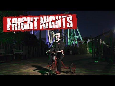 Thorpe Park Fright Nights Vlog October 2017