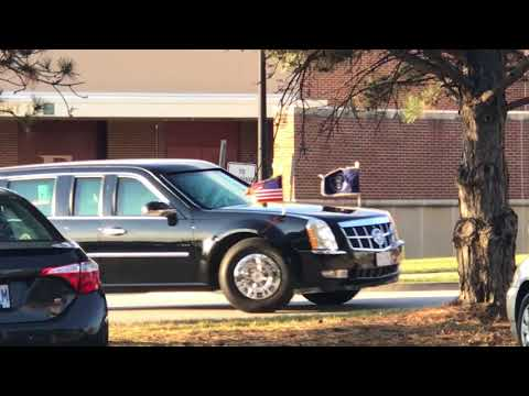 President Donald J Trump St. Charles Mo November 29 2017 Motorcade