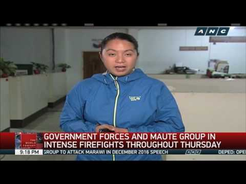 Battle for Marawi City intensifies
