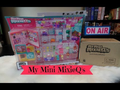 My Mini MixieQ's Ultimate Birthday Party & Beach Sets Unboxing