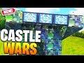 *NEW* CASTLE WARS CUSTOM GAMEMODE in Fortnite Battle Royale