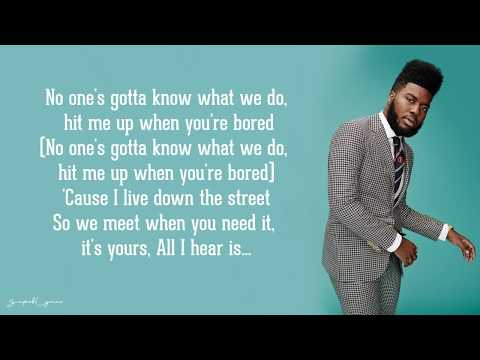 Better - Khalid (Lyrics)