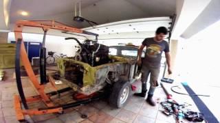 1967 Mustang Restoration part 1/3