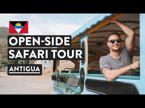 The Real Antigua And Barbuda | Antigua Island Safari Tour | Caribbean Travel Vlog