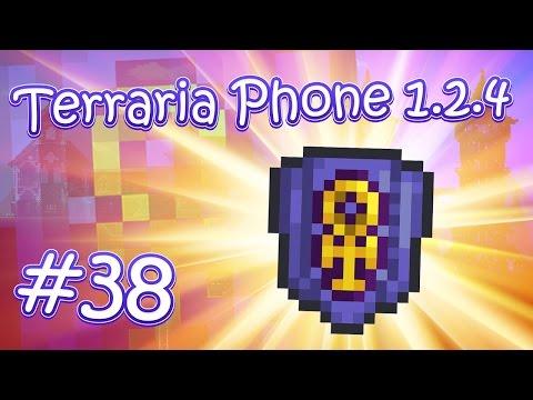видео: lp. hm. terraria phone 1.2.4 #38 (Долгожданный Щит Анх!)