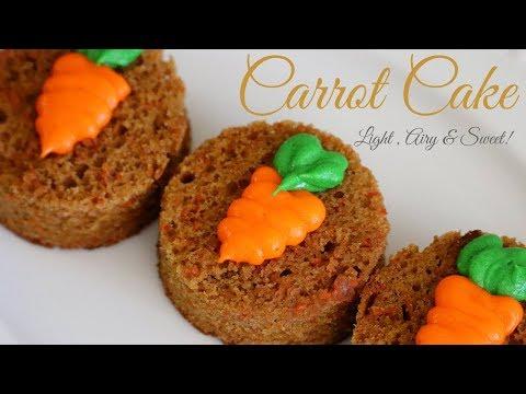 Moist Carrot Cake Recipe (Nuts Free)