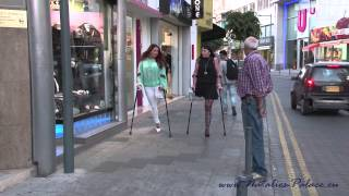 Repeat youtube video The amputees Tanja and Natalie in Limassol