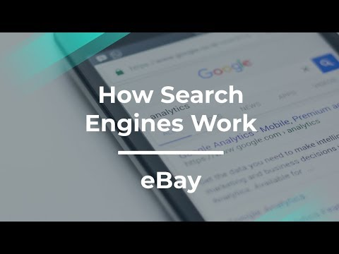 How Search Engines Work by former eBay Product Manager
