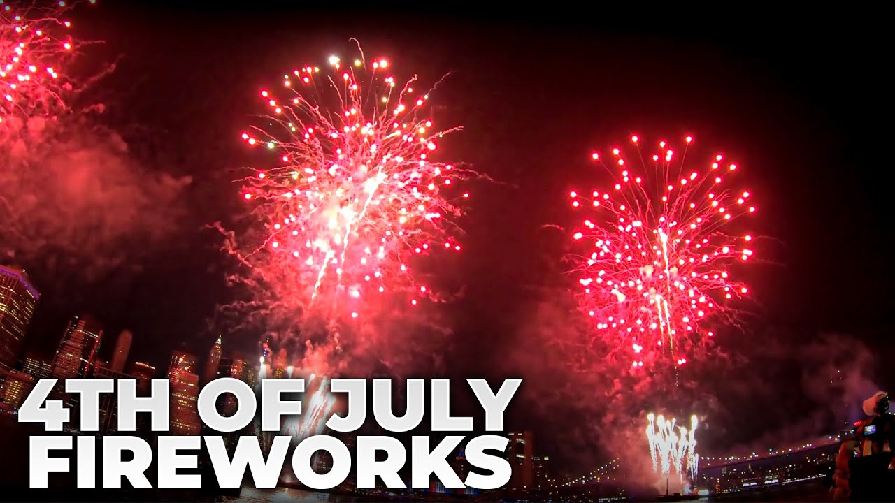 Macy's New York City July 4th fireworks: How to watch, time