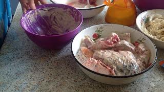 Сазан запеченный в духовке с картошкой. Carp baked with potatoes.
