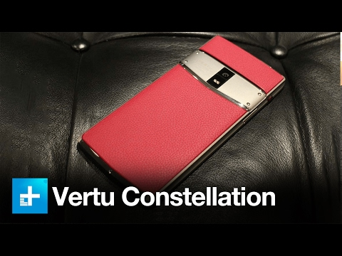 Vertu Constellation the $6000 Smartphone - Hands On Review