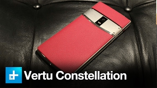 Vertu Constellation the $6000 Smartphone – Hands On Review