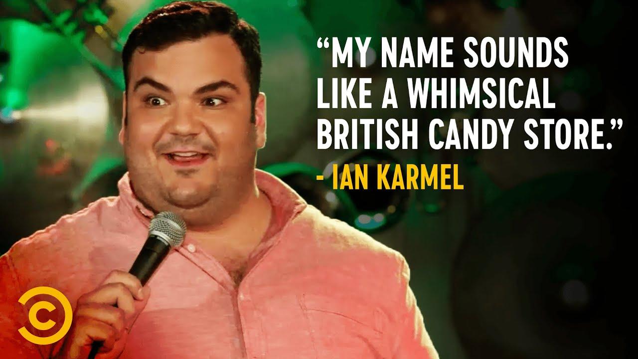 What Ian Karmel's Name Sounds Like