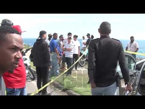 Autoridades buscan mujer que se tiró al Mar Caribe con su hijo de 4 años