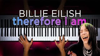 Billie Eilish - therefore i am | The Theorist Piano Cover видео