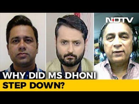 I Think It's A Right Way For MS Dhoni To Go: Sunil Gavaskar