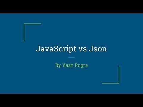 How to convert javascript object to json | stringify function | lecture-7