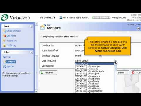 Virtuozzo Linux - How to configure your Power Panel interface - YouTube