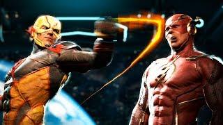 Injustice 2 Reverse Flash Обратный Флэш ПРОТИВ Флэш