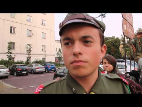 Polish Boy Scout Interview on Poland, Russia, Ukraine