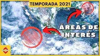 Posible desarrollo ciclónico en el Atlántico y Pacífico Este.