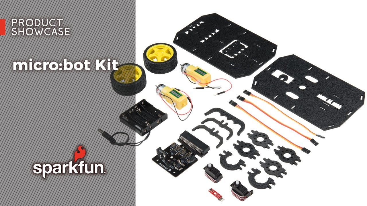 micro:bot Kit Experiment Guide - learn sparkfun com