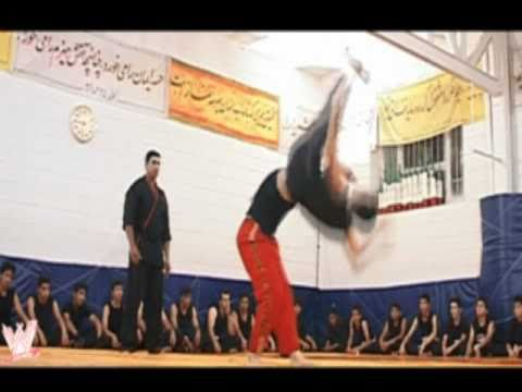 Iran Wrestling Entertainment  (IWE) VS AARON TEAM   [ Iranian WWE ]